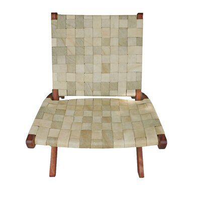 Willow Lounge Chair Upholstery: Tan