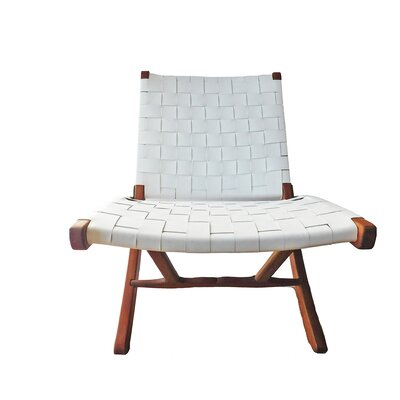 Willow Lounge Chair Upholstery: White