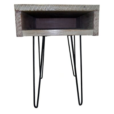 Gaia End Table Finish: White