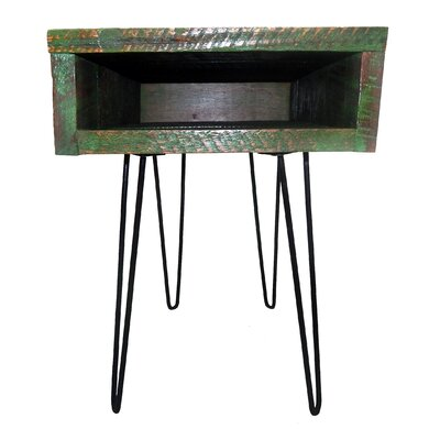 Gaia End Table Finish: Green