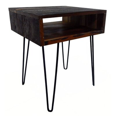 Ren End Table Finish: Solid Brown