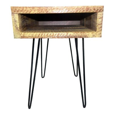 Gaia End Table Finish: Yellow