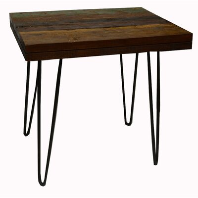 Crane End Table Finish: Black