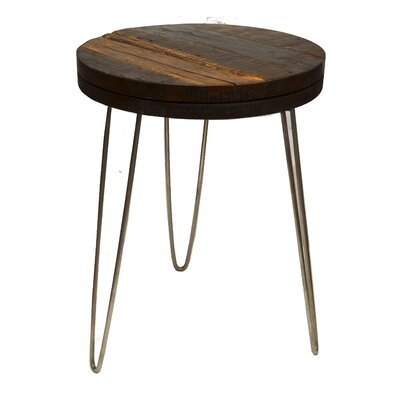 Lily End Table Finish: Stainless Steel