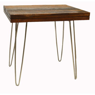 Crane End Table Finish: Stainless Steel