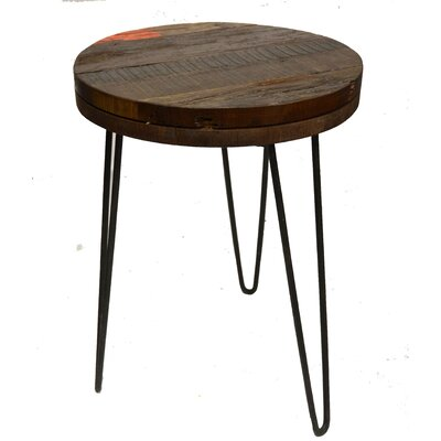 Lily End Table Finish: Black