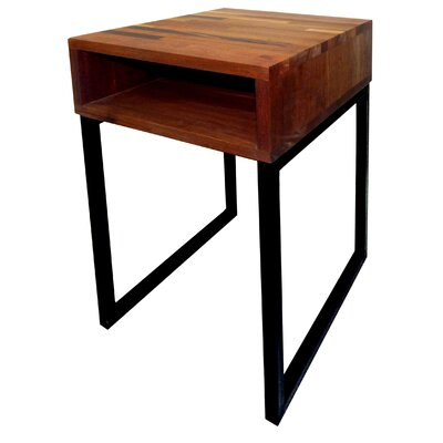 Mix Wood End Table