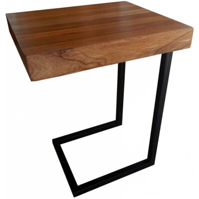 Esteli Wood End Table Finish: Natural Wood