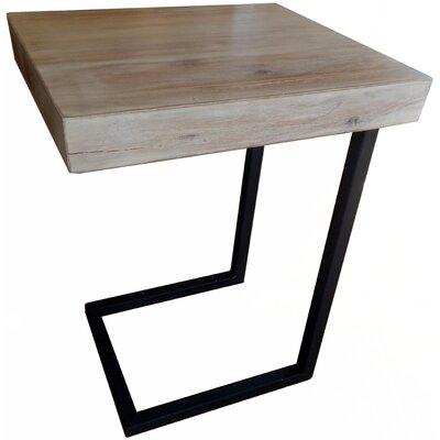 Esteli Wood End Table Finish: White Washed