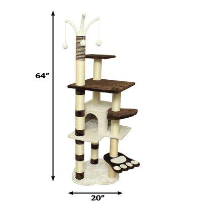 64 Cat Tree