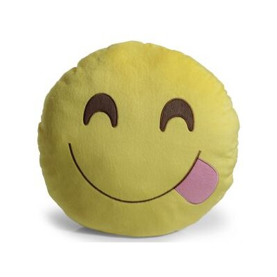 Emoji Yum Pillow Throw Pillow