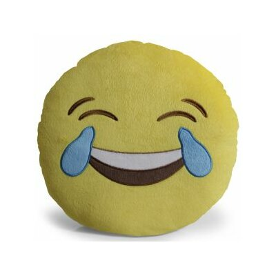 Emoji Joy Pillow Throw Pillow