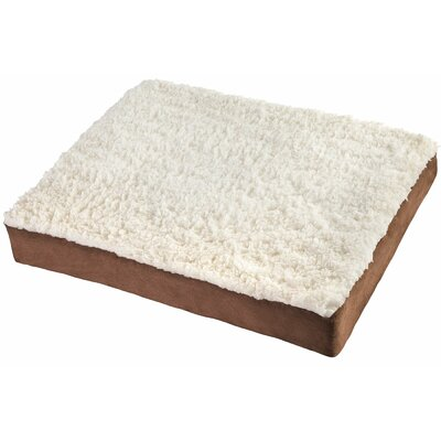 Ultra Plush Delux Ortho Pet Bed Size: Medium (30 L x 20 W)