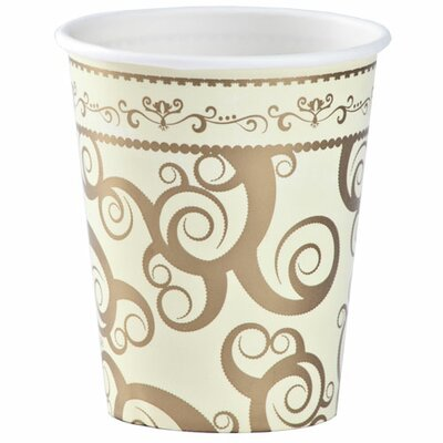 Swirly Round Paper Cup K90082