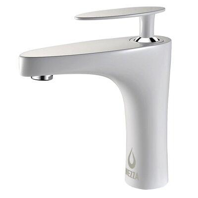 Cobra Series Single Hole Single Handle Bathroom Faucet Finish: White