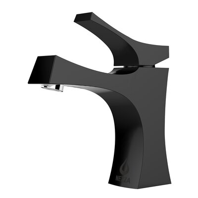Talon Series Single Hole Single Handle Bathroom Faucet Finish: Black