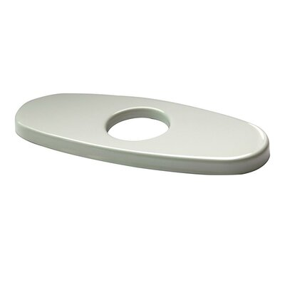 Bathroom Sink Faucet Deck Plate Finish: White