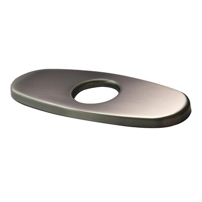 Bathroom Sink Faucet Deck Plate Finish: Brushed Nickel