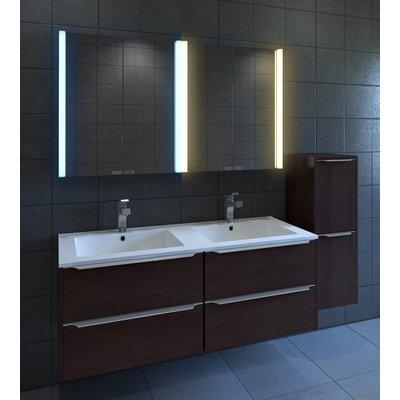 Diva 25 x 27.75 Surface Mount Medicine Cabinet with LED Lighting