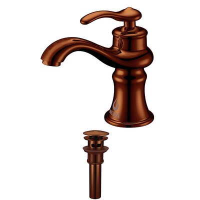 Mamba Single Handle Bathroom Sink Brass Faucet with Drain Assembly Finish: Oil Rubbed Bronze