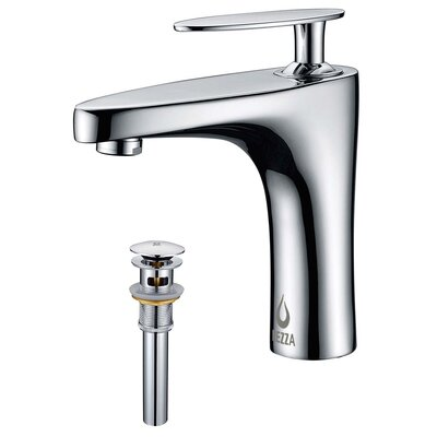 Cobra Single Handle Bathroom Sink Brass Faucet with Drain Assembly Finish: Chrome