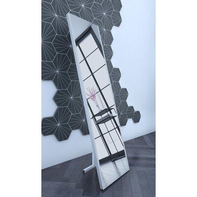Contemporary Illuminated LED Free-Standing Full Length Mirror