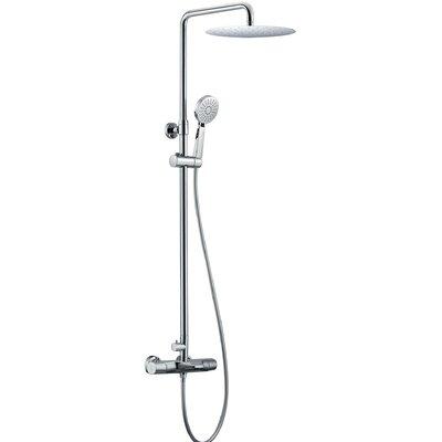 Kora 3 Way Rain Shower Head Complete Shower System NST-010-101-CH