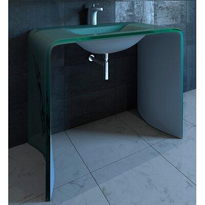 Odegaard 36 Single Bathroom Vanity Top Finish: White