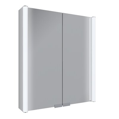 Diva 25 x 27.75 Surface Mount Medicine Cabinet with LED Lighting