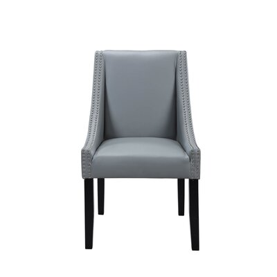 Lincoln Upholstered Dining Chair Upholstery: Gray