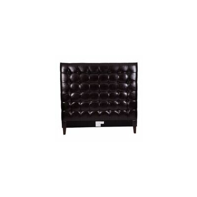 Beethoven Upholstered Panel Headboard Size: Queen, Color: Black