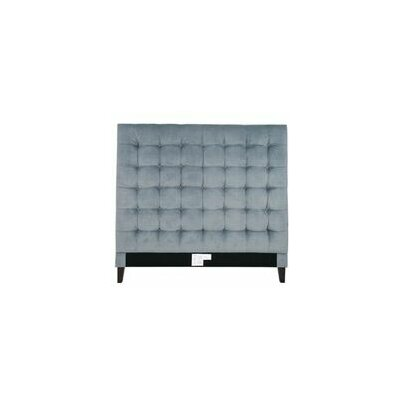 Beethoven Upholstered Panel Headboard Size: King, Upholstery: Slate Blue