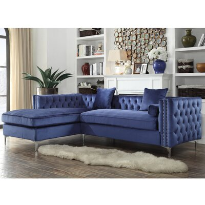 Iconic Home Finney Sectional SL32-14NY-N1-WR