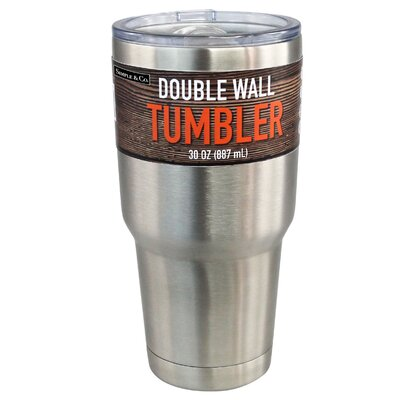 Stainless Steel 30 Oz. Double Wall Insulated Tumbler HGI-2234