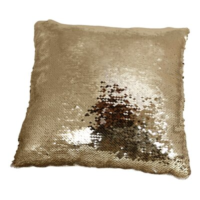 Kory Sequins Square Throw Pillow