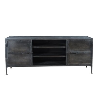 Josh 72 TV Stand Color: Gray