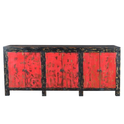 Auro Sideboard Color: Antique Red