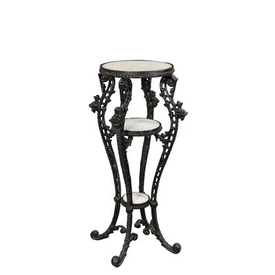 Josh End Table Base Color: Black
