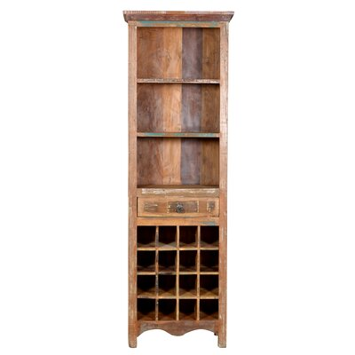 Desirae 16 Bottle Floor Wine Rack