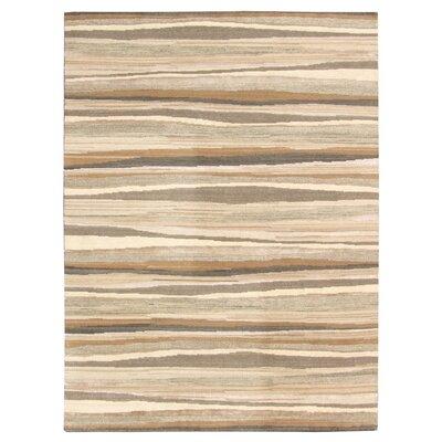 Aspen Hand-Woven Brown/Beige Area Rug