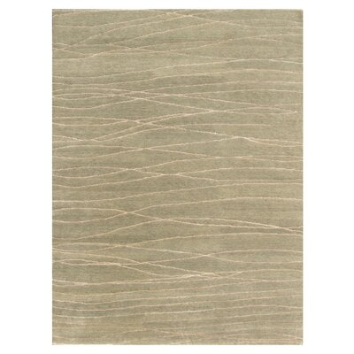 Aspen Hand-Woven Beige Area Rug Rug Size: Rectangle 810 x 12