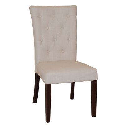Aaron Side Chair Upholstery: Beige