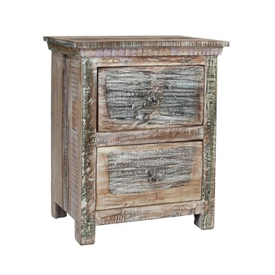 Desirae 2 Drawer Nightstand