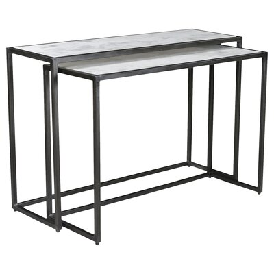 Bea 2 Piece Console Table Set