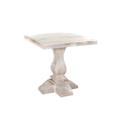 Maliyah Pedestal End Table Finish: Lime