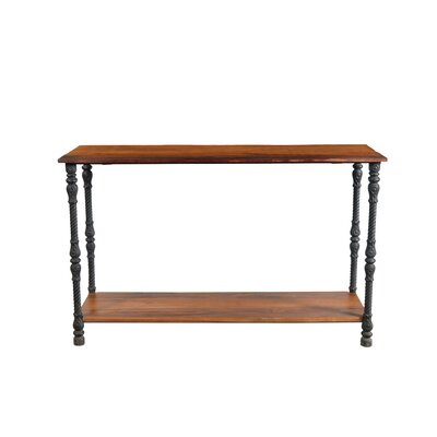 Josh Iron Leg Console Table
