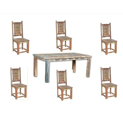 Desirae Hills 7 Piece Dining Set