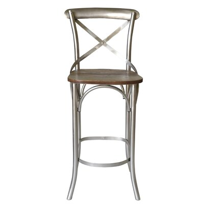 Minerva Cross 31 Bar Stool