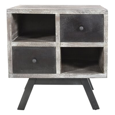 Brundidge End Table with Storage
