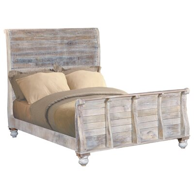 Pagano King Panel Bed
